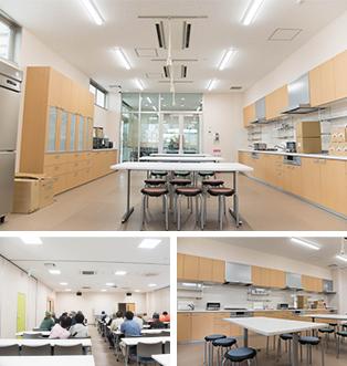 調理室と研修室